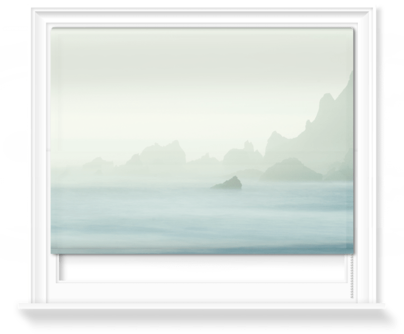 'Gradient Coast' Roller Blind