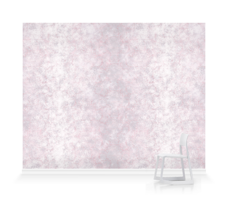 'Lydiard Damask Chalk Pink' Wallpaper murals